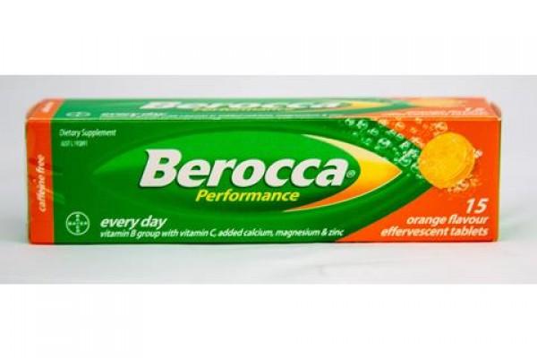 Berocca Performance Orange - 15 Effervescent Tablets