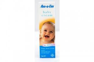Amolin Baby Cream 50g - Nappy Rash Cream