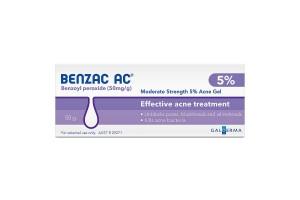 Benzac AC 5% Water Based Acne Gel 50g