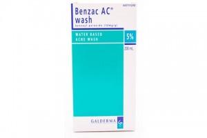 Benzac AC Wash 5% 200mL