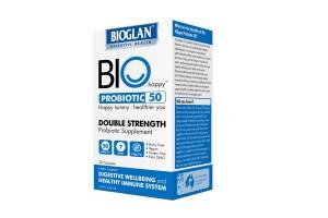 Bioglan Bio Happy Probiotic 50 Double Strength - 30 Capsules