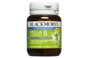Blackmores Mega B Complex 31 Tablets