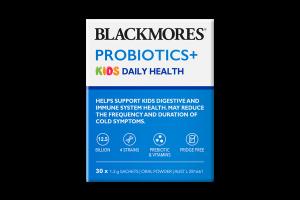 Blackmores Probiotics+ Kids Daily Health 30X1.3g Sachets