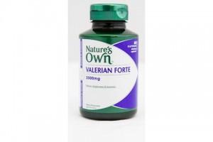 Natures Own Valerian Forte 2000 MG 60 Capsules (B0838)