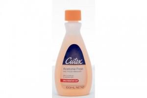 Cutex Nail Polish Remover 100 mL Acetone Free