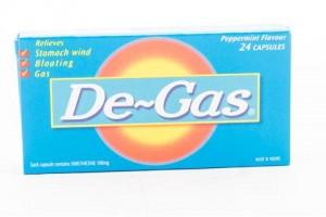 De-Gas 100mg Caps - 24 PK