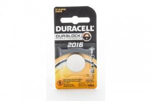 Duracell Lithium Battery 3V DL2016/ CR 2016