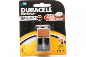 Duracell Battery 9V PK 1