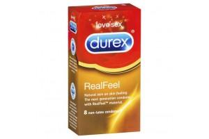 Durex Real Feel Non-Latex Condoms 8 PK