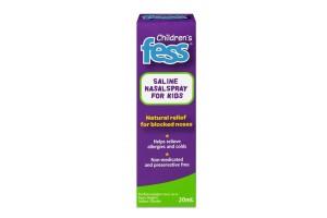 Fess Childrens Saline Nasal Spray 20 mL