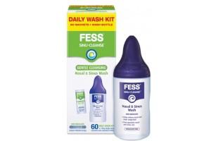 Fess Sinu-Cleanse Nasal & Sinus Wash Kit 60PK