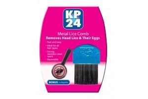 KP24 Metal Lice Comb Bonus 5X Magnifier