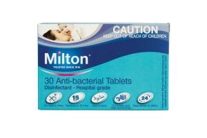 Milton Baby Antibacterial Tablets 30PK