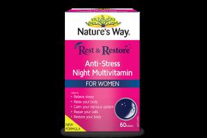 Natures Way For Women Rest & Restore MultiVitamin 60 Tabs