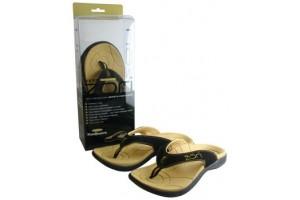 Neat Zori Black / Tan Size 5 Sport Foot Wear