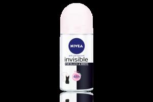 Nivea B&W Invisible Pure APD Roll On 50mL