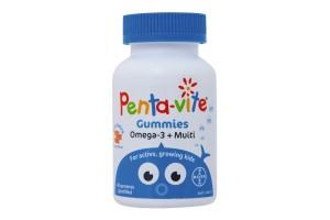 Pentavite Omega-3 + Multi  60 Gummies