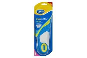 Scholl GelActiv Sport Insoles For Woman (Size 6-9)