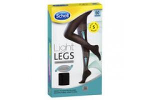 Scholl Light Legs Small   Black 60 Denier Compression Tights