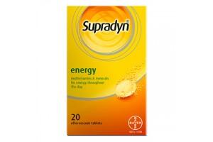 Supradyn Energy Effervescent Tablets 20PK