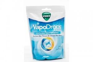Vicks Vapo Drops Cooling Peppermint - 24 Lozenges