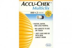 Accu-Chek Multiclix 100+2 Sterile Lancets