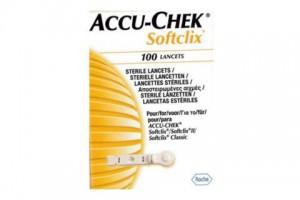 Accu-Chek Softclix 100 Lancets - Clix Motion