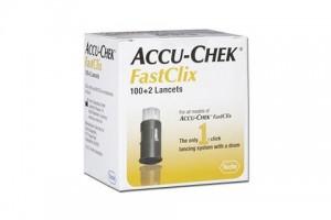 Accu-Chek Fastclix  100+2 Sterile Lancets