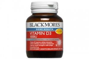 Blackmores Vitamin D3 1000 IU 60 Capsules