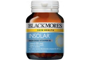 Blackmores Insolar High Dose Vitamin B3 60 Tablets PK