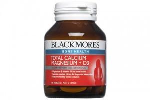Blackmores Total Calcium +D3 + Magnesium 60 Tablets