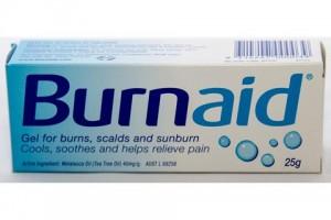 BurnAid Gel 25g - Gel For Burns,Scalds & Sunburn