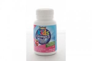 Centrum Kids Omega 3 Plus 60 Soft Chewable Capsules
