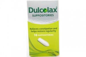 Dulcolax Suppositories - 10PK - Bisacodyl 10 mg