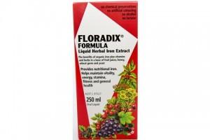 Floradix Formula Liquid Herbal Iron Extract 250 mL