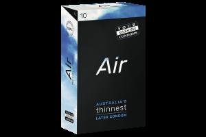 Four Seasons Air Thin Latex Condoms 10PK