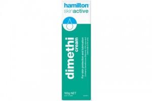 Hamilton Skin Active Dimethi Cream Original Formula 100g