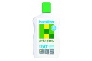 Hamilton Active Family SPF 50+ Sunscreen Lotion 250mL