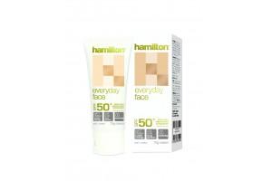 Hamilton Everyday Face SPF 50+ Sunscreen Cream 75g