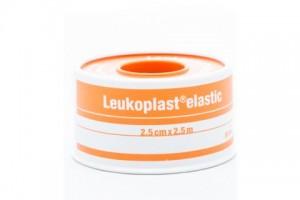 Leukoplast Elastic 2.5cm X2.5m - 01071-00