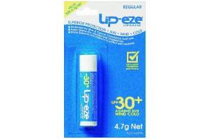 Lip-Eze Lip Balm SPF 30+ Regular 4.7g