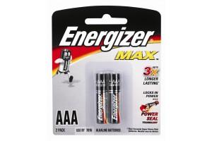 Energizer Battery AAA 2PK