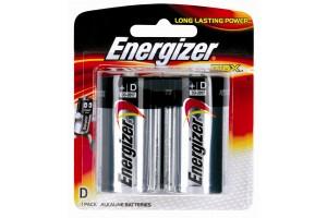 Energizer Battery E95 BP2 D 2PK