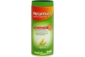 Metamucil Natural Granular 48 Doses PK 336g