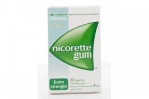 Nicorette Gum Classic Extra Strength 4 mg Classic - 30