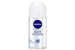 Nivea Pure Invisible Anti-Perspirant  Roll On 50 mL