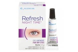 Refresh Night Time Eye Ointment Dry Eyes 3.5g