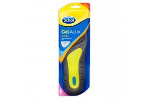 Scholl Gel Activ Work Insoles For Women (Size 6-9)