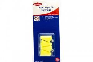 Surgical Basics Foam Taper Fit Ear Plugs 2 Pair SB467