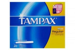 Tampax Regular Tampons With Applicator 20PK